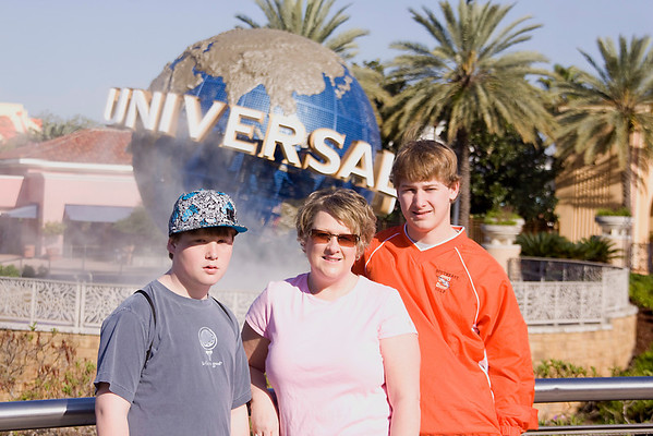 2010 Vacation to Universal Studios in Florida. Andy Griffin Photography.