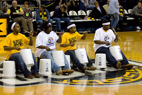 The Bucket Boys at UNCG. Andy Griffin Photography.